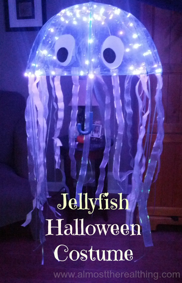 Amazing DIY Jellyfish CostumeJelly Fish Costume