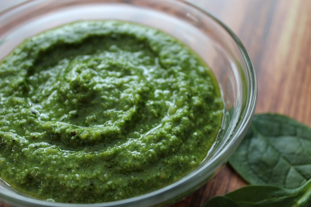 Spinach Pesto - Almost The Real Thing