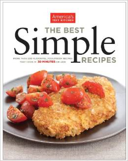 simple recipes cookbook test america kitchen americas cookbooks beginners books amazon absolute essential menu cook kitchens farfalle spinach wednesday chicken
