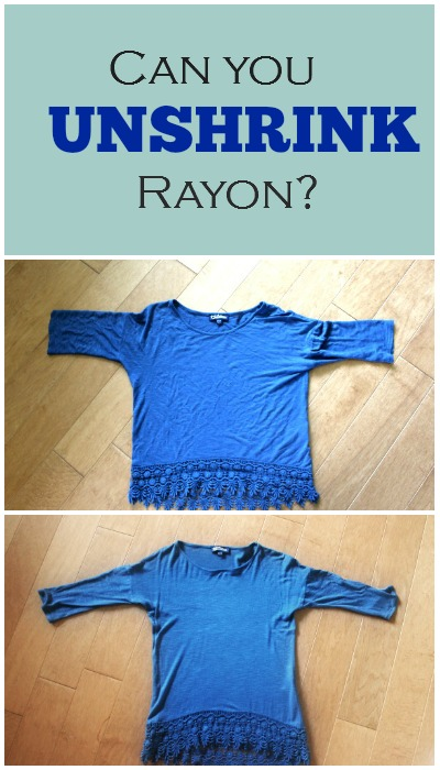 May 25,  · To dramatically shrink your rayon: Wash your fabric in a washing machine on a warm or hot cycle. Dry the rayon on